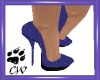 CW Purple Pumps