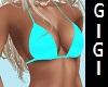 GM Beach top turquoise