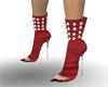 [VBR] red shoes fashion