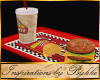 I~Diner Ani Burger Tray