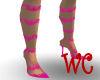 [WC]~HotPinkLace Heels~