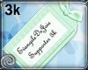 EDJ 3k Support Sticker