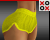 Yellow Short Shorts