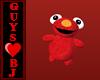 Elmo Shoulder Pet