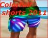 Colorful shorts 2011