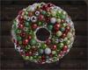 Christmas orn. wreath 1