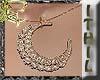 Golden Moon Necklace