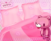 ♡ Pink Bed ♡