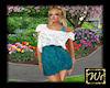 Summer dress - Aqua