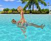 Couples Swim Pose