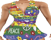Love & Peace Short Set