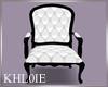 K bw wedding chair