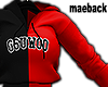 gsu.woo adult red&black