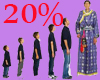 Size 20%