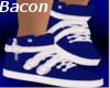 Ladie's Blue Sneakers