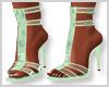 Mint Butterfly Heels