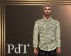 PdT Cream Linen Shirt M