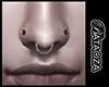 Nose piercing set