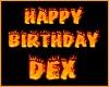 DEX bday balloons