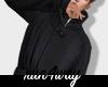rw l Black Trench Coat