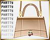 Hanging Hourglass Bag