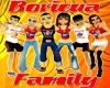 Boricua Family Sticker