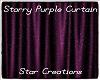 Starry Purple Curtain