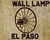 [M] EL PASO Wall Lamp