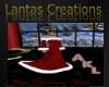 AKL Christmas gown w fur