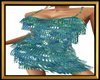 Fringe Mint Dress