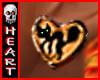 Halloween Heart Cat