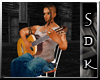 #SDK# Guitar Chair