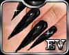 Black Nails Stiletto EV