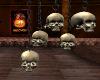 Skulls Hanging