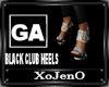 BLACK CLUB HEELS