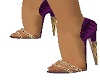 🎀 Purple Heels