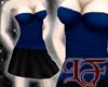 Tunic Top Blue w/Skirt