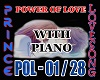 POWER OF LOVE + PIANO