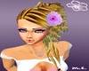 *P.E* blonde flower pink