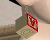 Wood block earrings