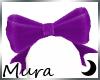 Hairbow Purple
