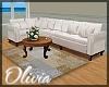 *OI* White Sofa Set