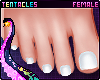 ⭐ Pedicure White