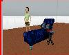 (S)Blu Cherry kiss Chair