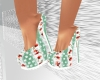 Cherry Stripe Heels