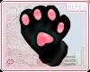 .:E:. Bear Paws Black