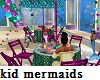 Kids Mermaid Party Table