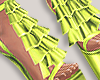 I│Ruffle Add-On Lime