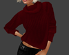 ^EM^ Knitted Sweater Red