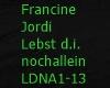 F.Jordi/Lebst d.n allein